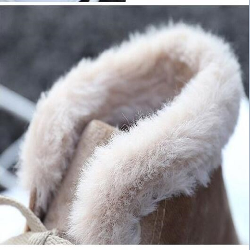 Winter new cotton shoes simple plus velvet high canvas shoes Korean version of the thick warm two cotton shoes 30