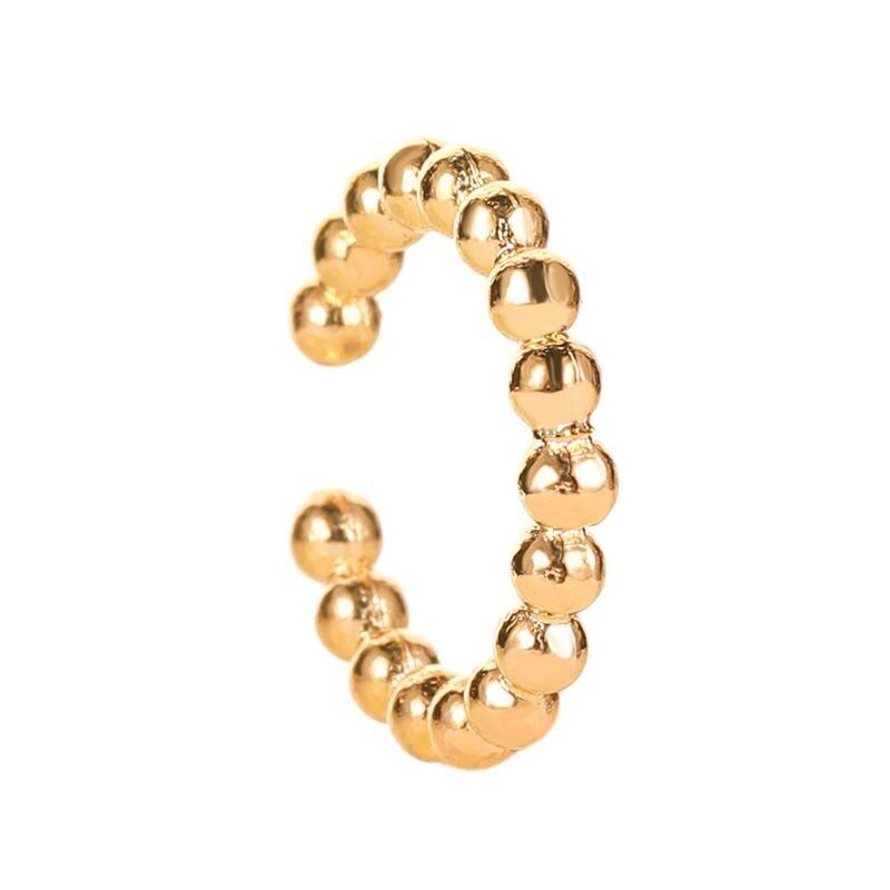12 gold earrings