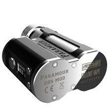MECHLYFE – MOD SBS 1 Box pour vapoteur, compatible avec une seule batterie 18650/ 20700/ 21700, compatible avec un réservoir 510
