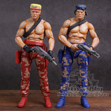 Neca Contra Bill & Lance Pvc Action Figure Collectible Model Toy 2 Pack