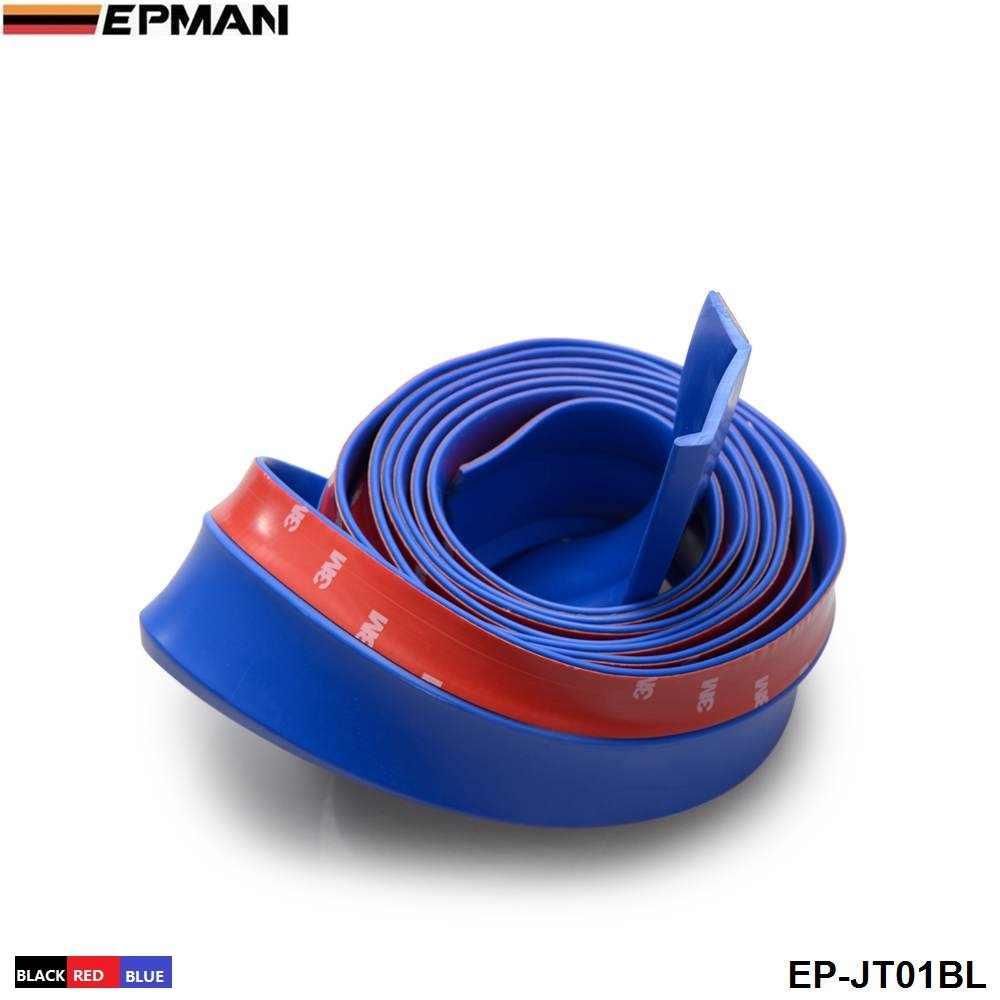 Voorbumper Spoiler Kin Lip Splitter Valentie Wing Body Kit Fit Voor Honda Civic (Zwart/Rood/Blauw) voor Bmw F20 1 EP-JT01