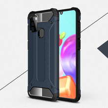 Armor Phone Case For Samsung Galaxy A21S A21 Cover TPU & PC Protective Phone Bumper For Samsung Galaxy A21S A21 Case Funda armor phone case for samsung galaxy a51 cover tpu