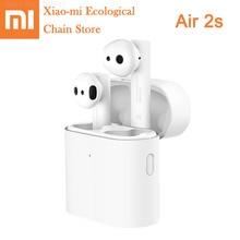 New Xiaomi True Wireless Bluetooth Headset Air 2s Xiaomi TWS Headphones Voice Control Bluetooth 5.0 Noise Reduction Tap Control