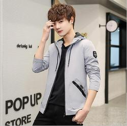 2019 New  Jacket Men Waterproof Hooded Breathable Casual Jacket Spring Autumn Outwear Windbreaker Tourism   Male Clothing