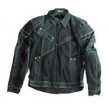 Komine JK006 – veste en Denim pour Motocross, vtt, vtt, résistant aux chutes, style Cowboy Cool avec protection