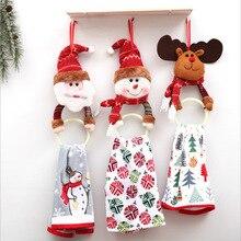 Christmas Decorations Christmas Clothes Napkin Ring Christmas Towel Ring Christmas Elk Pendant Navidad  Christmas Garland christmas