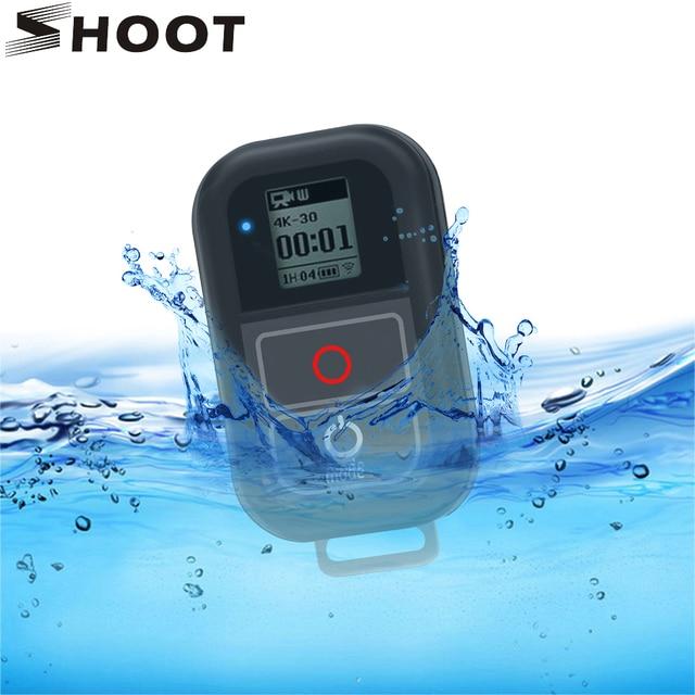 SHOOTสำหรับGoPro 8 7 WiFiรีโมทคอนโทรลสำหรับGoPro HERO 8 7 6 5 สีดำกันน้ำRemoterสำหรับgo Pro HERO 7 6 5 อุปกรณ์เสริม