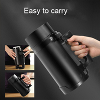Electric Kettles mini water bottle Portable travel thermos mug milk boiling cup smart teapot Stainless stee thermostat hot water