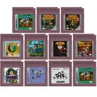 16 Bit Video Spiel Patrone Konsole Karte für Nintendo GBC AVG Abenteuer Spiel Serie Englisch Sprache Edition