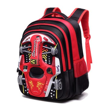 Fashion 3D Car Elementary School Bag 1-4-6 Grade Boys Girls Backpacks Breathable Wear-resistant Offload Children's School Bags 2