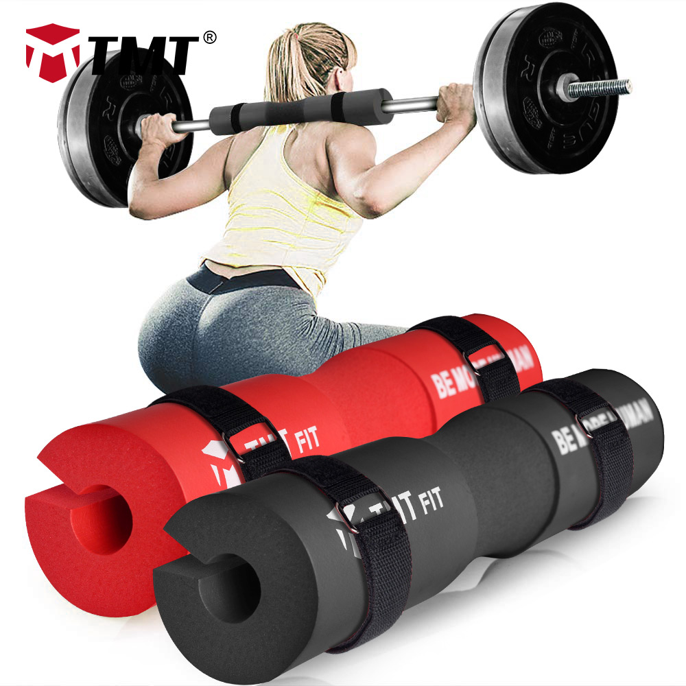 Poids Lifting Barbell Pad Squat Bar Dynamophilie cou épaule Protection