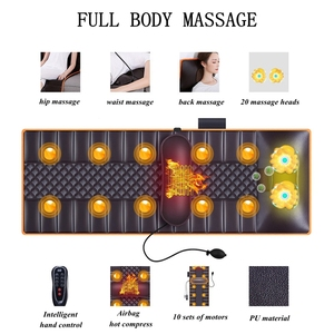 Image 4 - Multifunction Electric Massage Mattress Vibration Hot Compress Cervical Full Body Massage Cushion Electric Heating Blanket