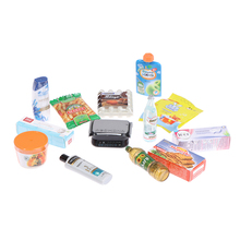 Toy-Accessories Blind-Bag Miniature Supermarket Play And 1pcs Model-Toys Snack Beverage
