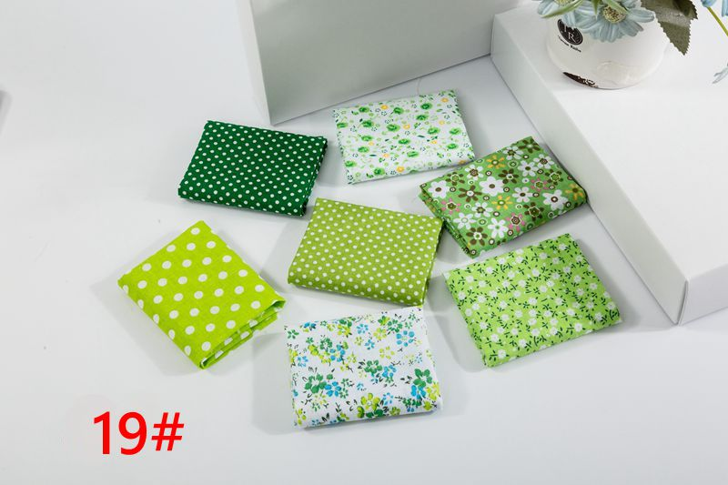 H178671c442d547d5ab9d648d175800d4k 25x25cm and 10x10cm Cotton Fabric Printed Cloth Sewing Quilting Fabrics for Patchwork Needlework DIY Handmade Accessories T7866