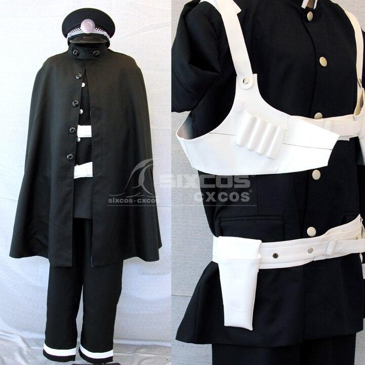 Game Shin Megami Tensei:Devil Summoner Kuzunoha Cosplay Costumes Black Combat Uniform Suit Role Play Prop Clothing Custom-Make