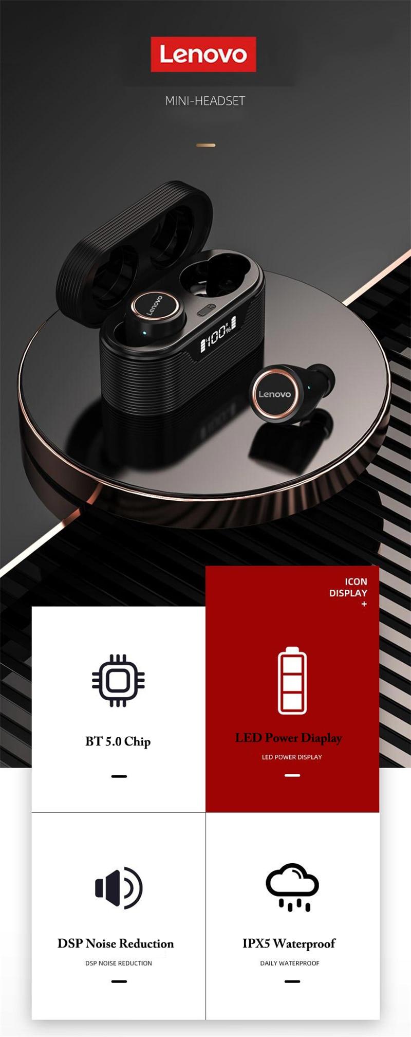 Lenovo LP12 TWS Wireless Earbud 4