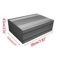 Aluminum PCB Instrument Box Enclosure Connection Case Electronic Project DIY