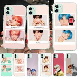 NBDRUICAI Park Jimin Kpop DIY Painted Bling Phone Case for iPhone 11 pro XS MAX 8 7 6 6S Plus X 5S SE XR cover(China)