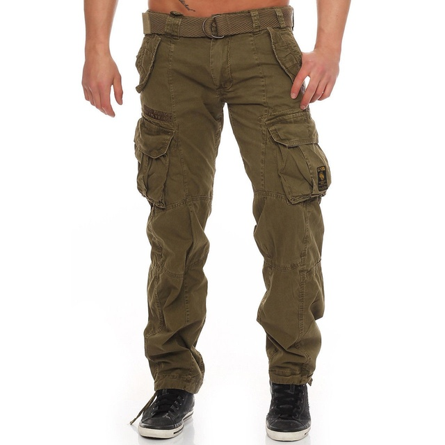 Zogaa 2019 Hot Tactical Cargo Pant Men Combat SWAT Army Military Pants Cotton Multi Pockets Stretch Flexible Man Casual Trousers