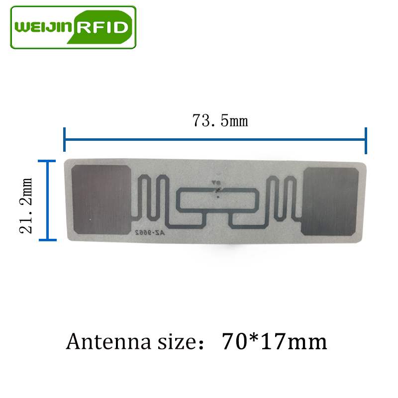 UHF RFID etiketi etiket Alien 9662 EPC6C ıslak kakma 915 mhz868 - Güvenlik ve Koruma - Fotoğraf 3