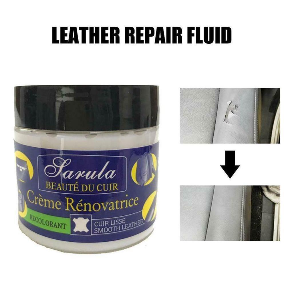 Auto Car Seat Sofa Leather Holes Scratch Cracks Rips Liquid Leather Repair Cream Car Seat Leather Restoration Vinyl Repair Kit