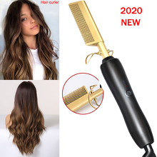 Electric Comb Environmentally Friendly Titanium Alloy Hair Curler