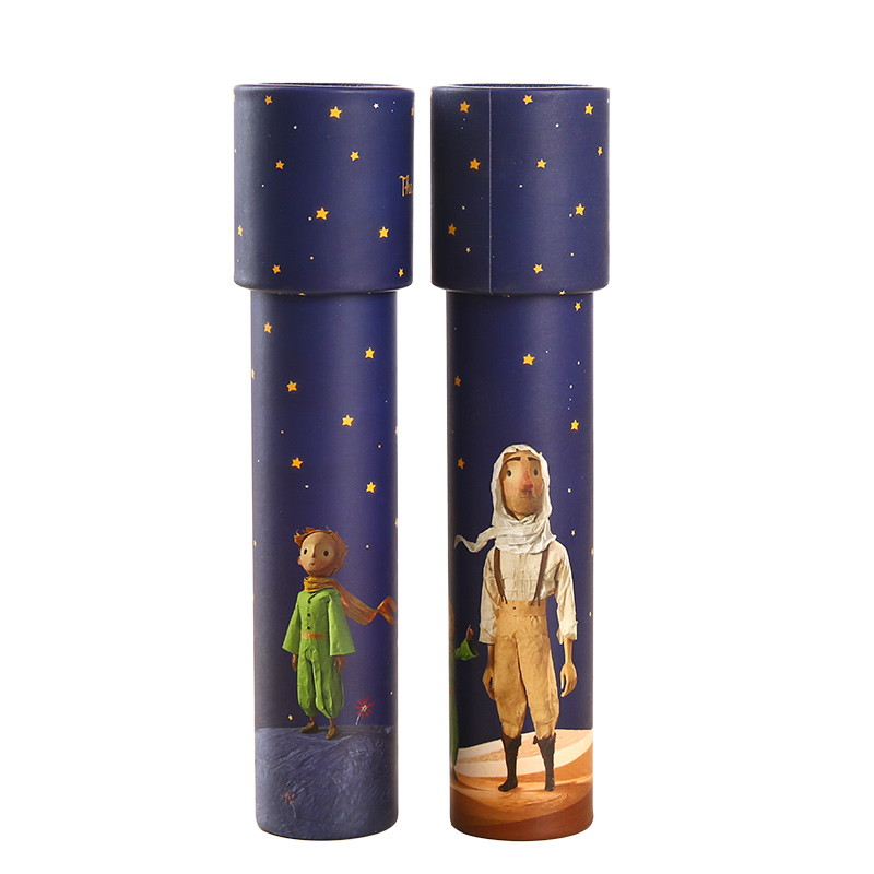 Cartoon The Little Prince Kaleidoscope Toys Educational Toys Children Magic Baby  Fancy Sensory Gifts Kids Toy