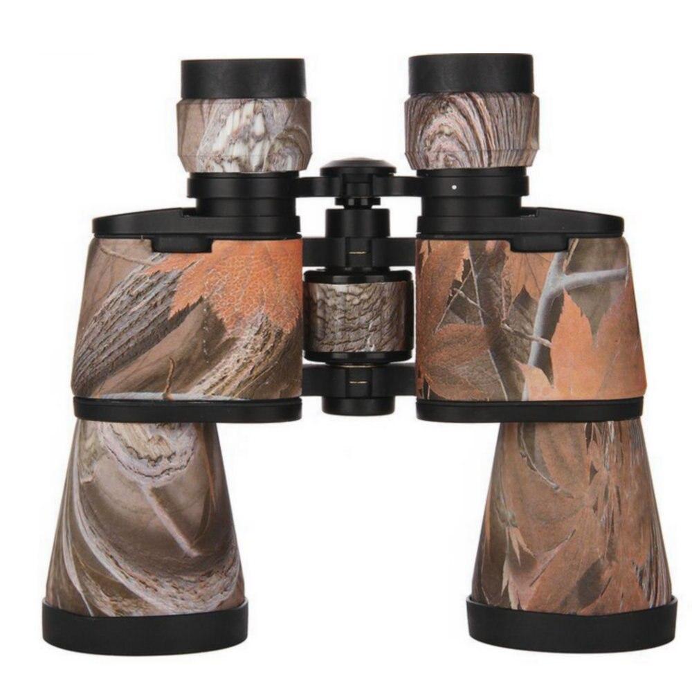 10X50 professionnel métal militaire télescope Vision nocturne Hd jumelles pour Camping en plein air chasse voyage livraison gratuite