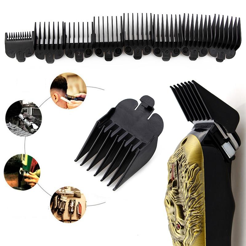 2020 New Arrival 8Pcs Universal Hair Clipper Limit Comb Guide Attachment Size Barber Replacement Wholesale&Dropship TSLM1