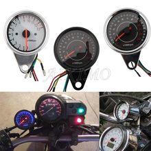 Led retroiluminação motocicleta tacômetro medidor tacômetro contador rev 0-13000 rpm