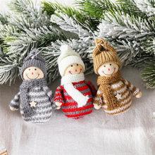 1PC décorations de noël pour la maison bonhomme de neige pendentif de noël arbre de noël décoration noël cadeaux Navidad 2020 bonne année