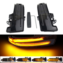 Dynamic Blinker LED Turn Signal Light Indicator For Mercedes Benz A B C E S CLA GLA CLS Class W176 W246 W204 W212 C117 X156