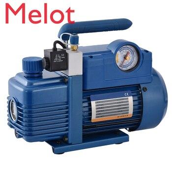 practical r134a to r12 r22 refrigerant recharge hose pipe V-i120SV 220V 180W New Refrigerant Vacuum Pump Air Conditioning Pump For R410a,R407C, R134a,R12,R22