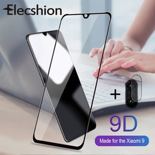 2 In 1 Tempered Glass 9D Screen Protector For Redmi Note 7 Pro Lens Film Xiaomi Mi 9 SE