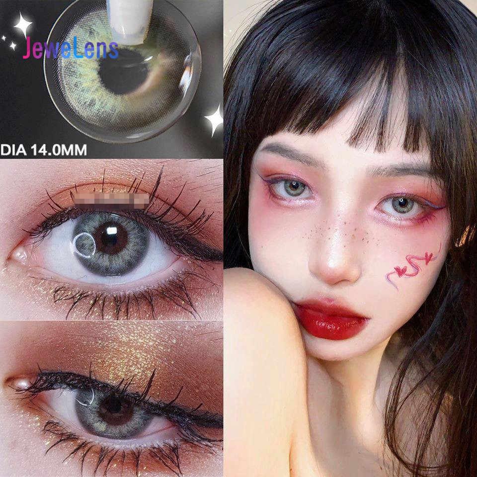 Jewelens kolorowe soczewki kontaktowe kolorowe szkła do oczu kosmetyk kolorowy Con Soft DNA Series