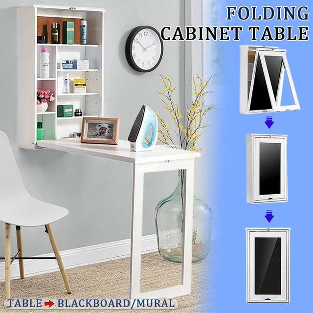 Folding Wall-Mounted Laptop Desk  1