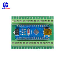 CH340 CH340G Nano V3.0 3.0 Controller Driver ATMEGA328 ATMEGA328P Terminal Expansion Board Nano IO Shield for Arduino AVR(China)