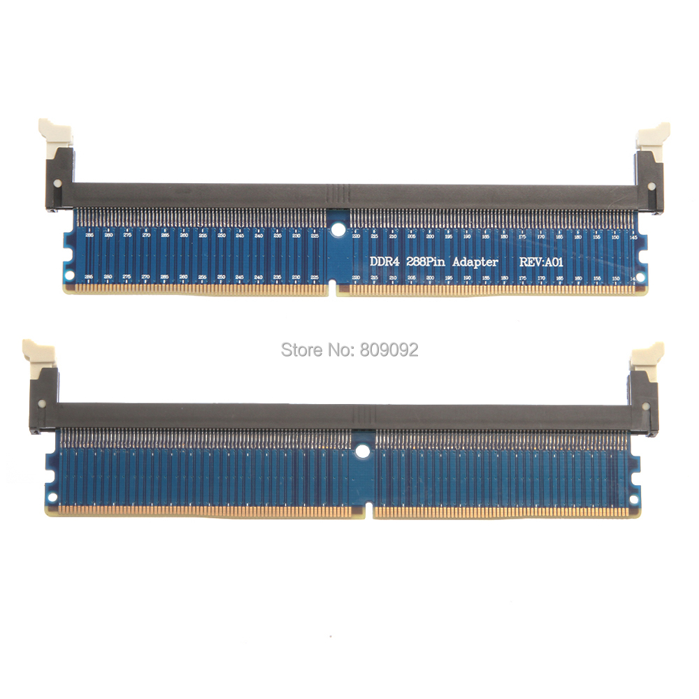 DDR4 DC 1.2V 288Pin Desktop PC Memory RAM Test Protection Card  Slot Adapter FOR PC Computer