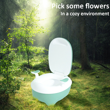 Kids Toilet Seat Baby Potty Portable Baby Toilet Seat Children Potty Child Pot Training WC Portable Camping Safe PP Material