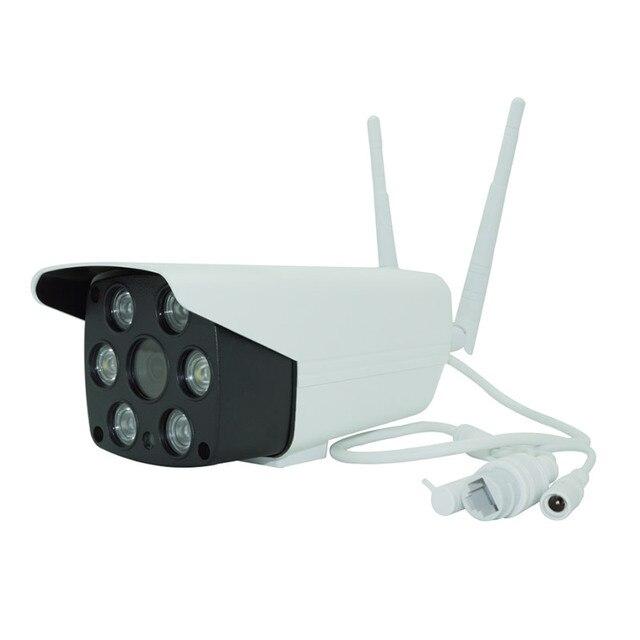 EWeLink caméra de surveillance intelligente IP, HD 1080P, étanche, IOT, audio bidirectionnel, visiophone nocturne infrarouge, extérieur (caméra LED)