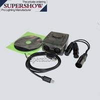 High quality stage effect Disco DJ Stage Light USB Lighting Interface DVC4 GZM Virtual Controller DMX USB Lighting Interface