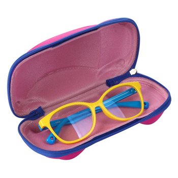 Eyewear Protection Containers Accessories Kids Glasses Case Cover Cartoon Car Sunglasses Box Portable Spectacle Organizer image