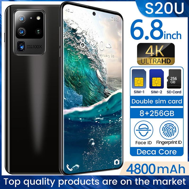 Galax S20 5G Network Free Shipping 8GB RAM 256GB ROM Octa Core 4 Camera Snapdragon 855 2019 5G Phone Samsun