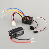 Surpass Hobby 550 27T/35T Brushed Motor 60A ESC with 5V/2A BEC for HSP HPI Kyosho TRAXXAS 1/10 RC Crawler Off road Climbing Car