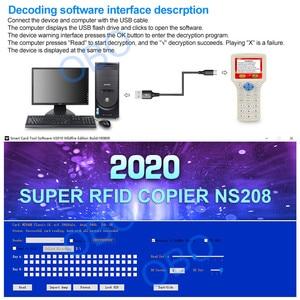 Image 5 - 10 英語周波数 RFID コピー機デュプリケーター 125 125khz のキーフォブ Nfc リーダライタ 13.56 Mhz の暗号化されたプログラマ USB UID コピーカードタグ