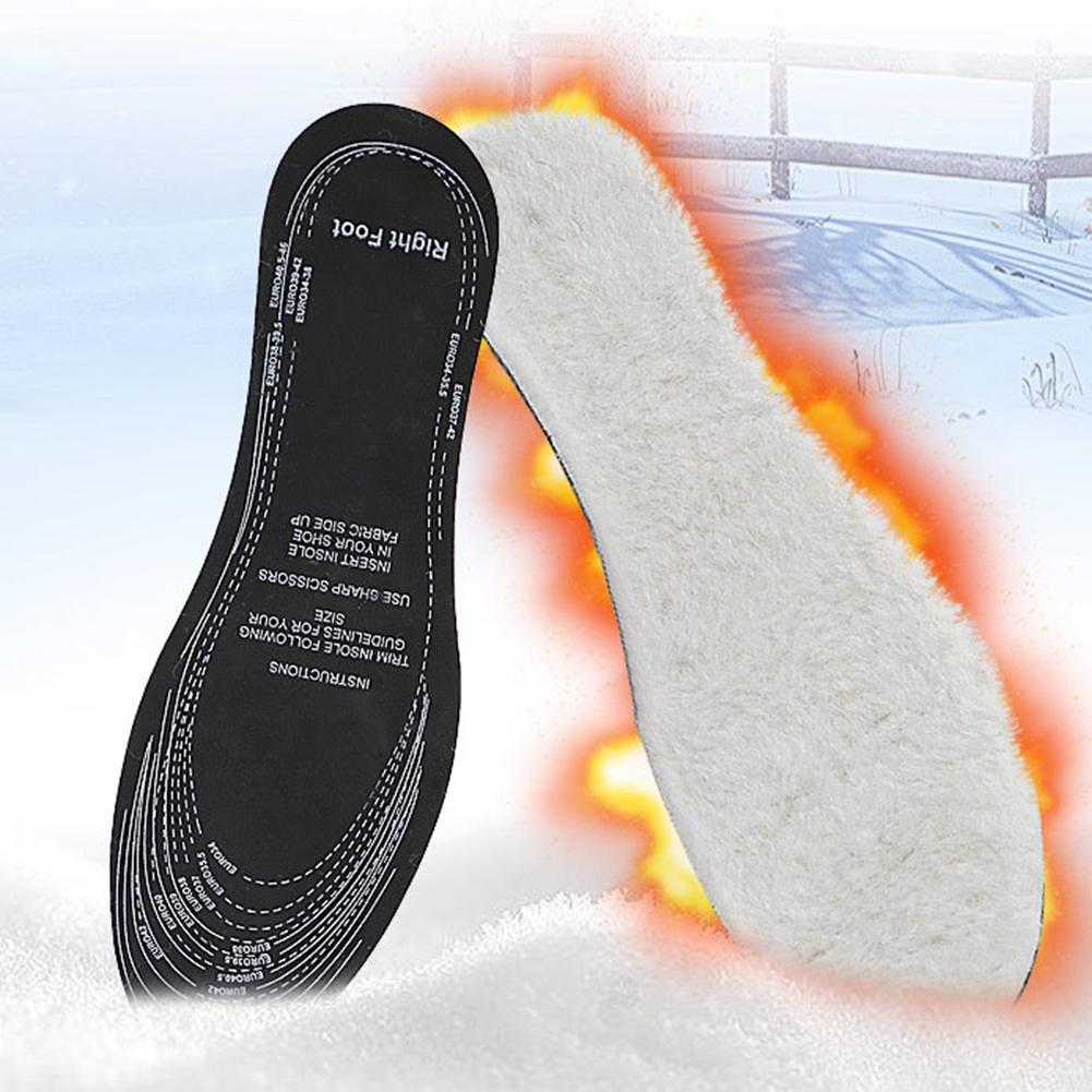 2Pc Flat Feet Arch Support Insoles Orthopedic Height Women Men Winter Warm Thicken Soft Breathable Shock Absorption Insoles Pads