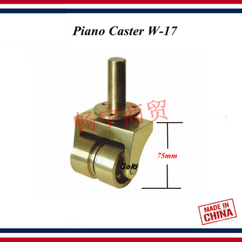 Piano tuning tools accessories high quality Piano Caster W-17 truckle Piano repair tool parts