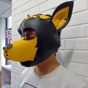 Image 5 - หนังเทียมเซ็กซี่ของเล่นลูกสุนัขเล่นสุนัขหน้ากากคอสเพลย์FetishเพศHoodบทบาทสัตว์เลี้ยงอุปกรณ์เสริม