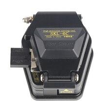 Волоконный Кливер SKL-6C нож для резки кабеля FTTH волоконно-оптический нож инструменты резак высокоточные волоконные Кливер 16 поверхность лезвия