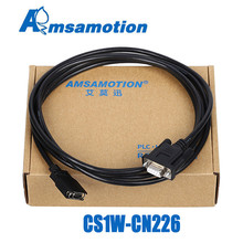 CS1W CN226 Serials Cable Suitable Omron CS CJ CQM1H CPM2C Series PLC Programming Cable RS232 Port Cable